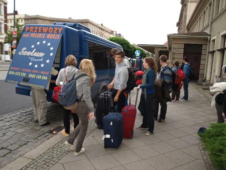 Ankunft in Görlitz